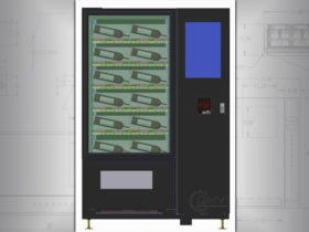 Wine Bottle Vending Machine