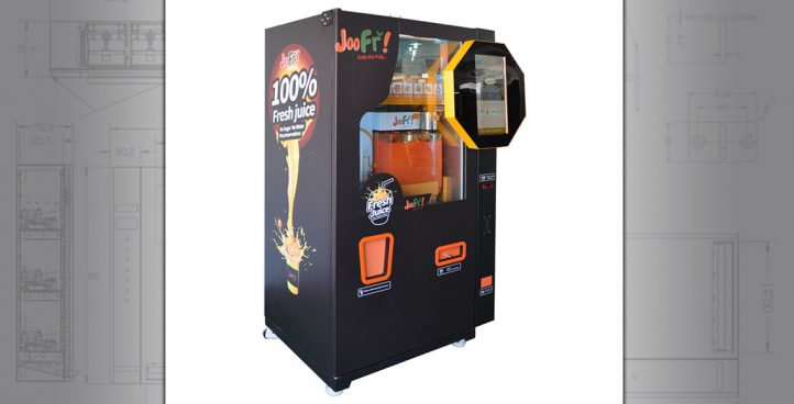 Orange Juice Vending Machines