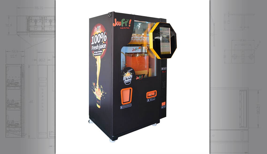Orange Juice Vending Machine