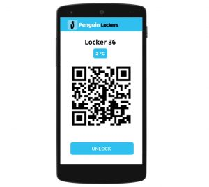 refrigerated lockers mobile app