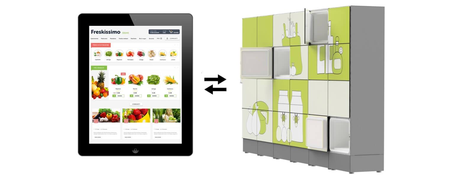 refrigerated lockers software integration