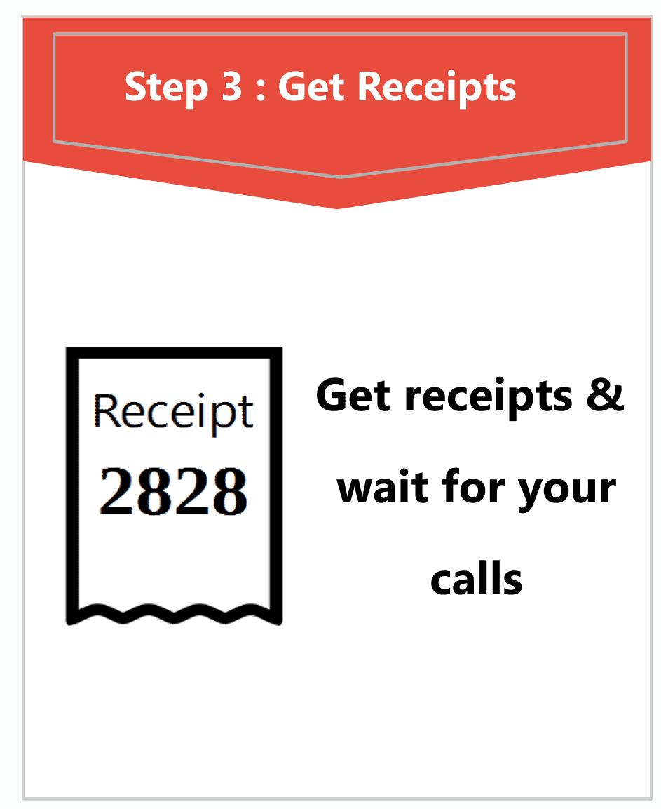 Get Receipts