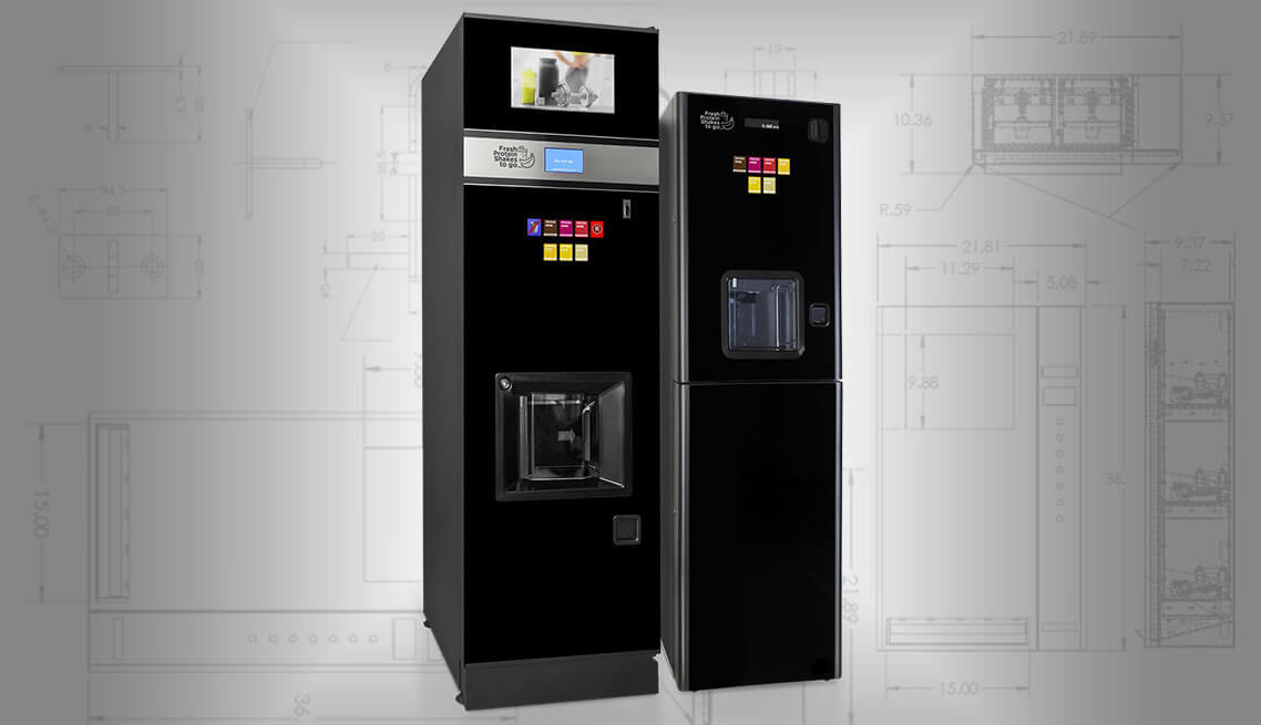 protein shake vending machines