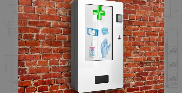 WALL MOUNTED VENDING MACHINES