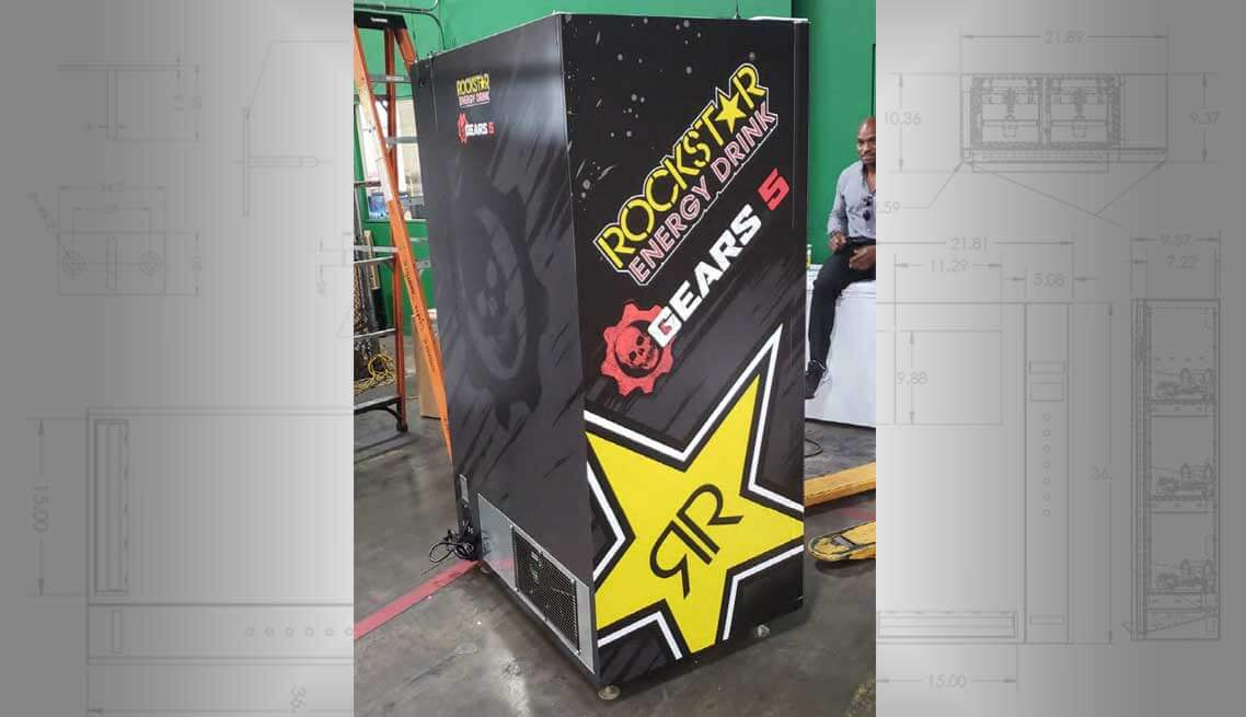 Rockstar Vending Machine