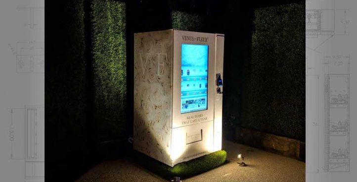 Smart Touchscreen Vending Machines
